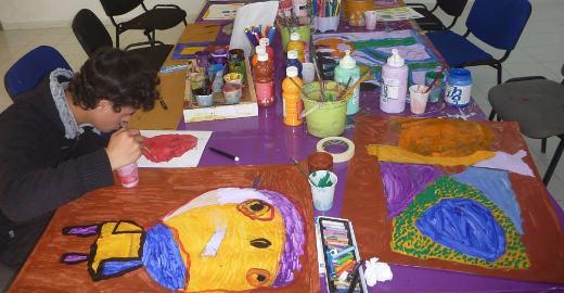 betreuung von kindern mit behinderung volunteering in marokko. Black Bedroom Furniture Sets. Home Design Ideas